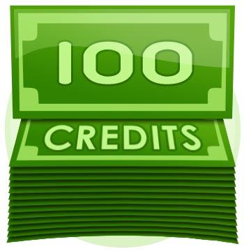 100 Credit Tip