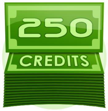 250 Credit Tip