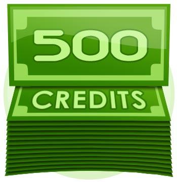 500 Credit Tip