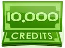 10,000 Credit Paid Show Tip