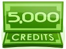 5,000 Credit Paid Show Tip