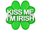Shamrock (Kiss Me I'm Irish)