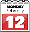 Monday February 12th