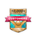 10,000+ Customers