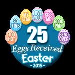 25 Eggs