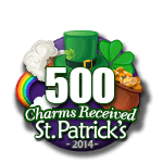 500 Charms