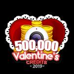 Valentine's 500,000 Credits