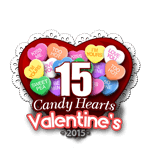 15 Candy Hearts