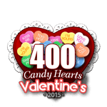 400 Candy Hearts