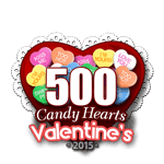 500 Candy Hearts