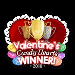 Valentines 2018 Candy Winner
