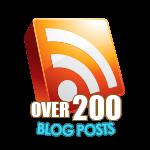 200 Blog Posts