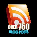 750 Blog Posts