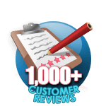 1000 Customer Reviews