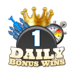 1 Daily Bonus Win