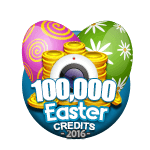 Easter 100,000 Credits