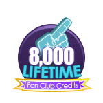 8k Lifetime Fan Club Credits