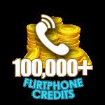 Flirt Phone 100,000 Credits
