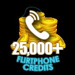 Flirt Phone 25,000 Credits