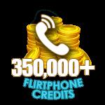 Flirt Phone 350,000 Credits