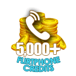 Flirt Phone 5,000 Credits