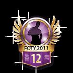 Guys FOTY 2011 12 Badge