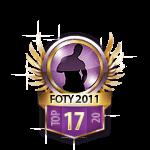Guys FOTY 2011 17 Badge