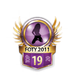 Girls FOTY 2011 19 Badge