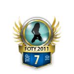 Girls FOTY 2011 7 Badge