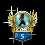 Girl Flirt of the Year 5 Badge