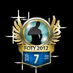 Guys Flirt of the Year 7 Badge