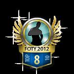 Guys Flirt of the Year 8 Badge