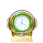 Flirt of the Year Stamina 2013