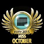 Miss October 2015