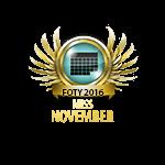 Miss FOTY November 2016