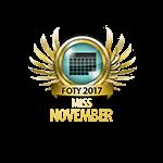 Miss FOTY November 2017