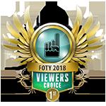 FOTY Viewers Choice 1st 2018