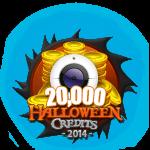 Halloween 20,000 Credits