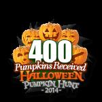 Halloween 400 Pumpkins