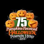 Halloween 75 Pumpkins