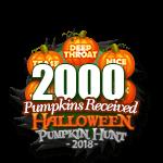 Halloween 2018 Pumpkins 2000