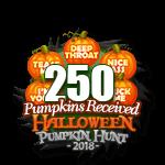 Halloween 2018 Pumpkins 250