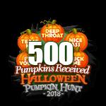 Halloween 2018 Pumpkins 500