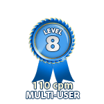 Multi-User 110cpm - Level 8