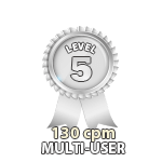 Multi-User 130cpm - Level 5