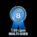 Multi-User 130cpm - Level 8