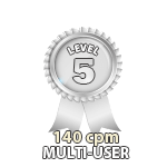 Multi-User 140cpm - Level 5
