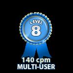 Multi-User 140cpm - Level 8