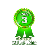 Multi-User 40cpm - Level 3