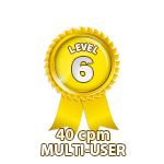 Multi-User 40cpm - Level 6